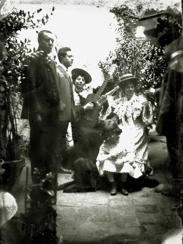 Flamenco 1910. Fuente: Torcuato Fandila