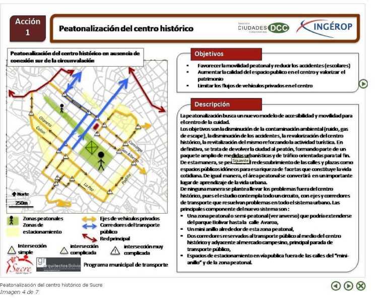 Una de las acciones del Programa. Fuente: www.dcc-ciudades.com