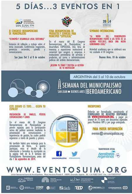 Poster del evento. Fuente: www.eventosuim.org