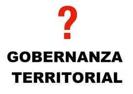 gobernanza territorial