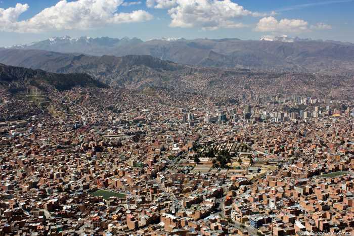 Vista de La Paz, Bolivia. Fuente: uncambiodeaires.com