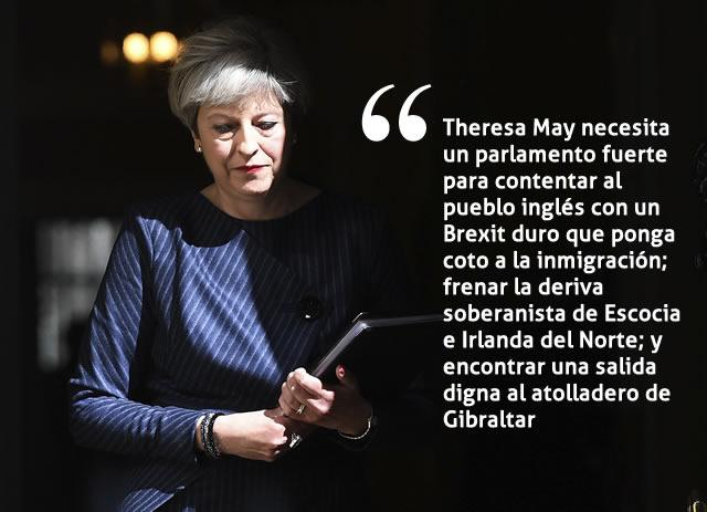 Theresa May, primera ministra de RU