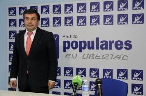 Rueda de prensa de Populares Libres PPL    FOTO: Álvaro Rubio Coca