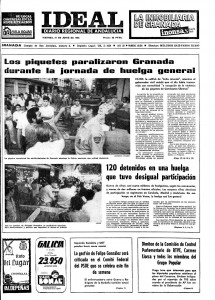 Huelga general del 20 de junio de 1985