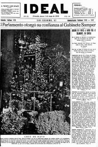 Día de la cruz en Granada 1934