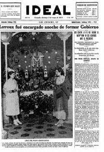 Día de la cruz en Granada, 1935