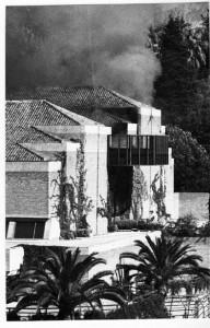 Incendio en el Auditorio Manuel de Falla
