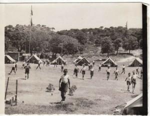 campamento de la Alfaguara