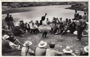 Romería de la Virgen de las Nieves 6 de agosto de 1961 Torres Molina/archivo de IDEAL