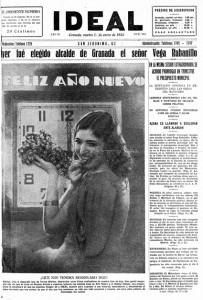 Portada de IDEAL del 1 de enero de 1935