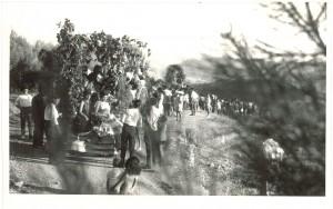Romería del año 1962. Torres Molina/Archivo de IDEAL