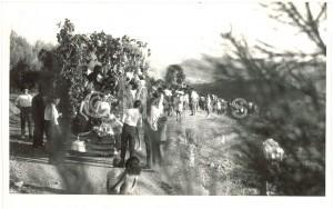 Celebración de la Romería de San Miguel. Torres Molina/Archivo de IDEAL